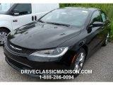 2015 Black Chrysler 200 S #104481284