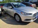 2016 Ingot Silver Metallic Ford Fusion S #104480947