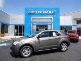 2010 Mocha Steel Metallic Chevrolet Equinox LS AWD #104481114