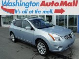 2012 Frosted Steel Nissan Rogue SV AWD #104481012