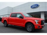 2015 Race Red Ford F150 XLT SuperCrew #104481086