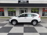 2013 White Diamond Pearl Honda CR-V LX #104481242