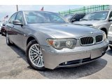 2003 Sterling Grey Metallic BMW 7 Series 745Li Sedan #104480752