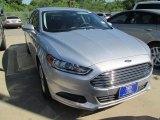 2016 Ingot Silver Metallic Ford Fusion SE #104518661