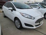 2015 Oxford White Ford Fiesta S Sedan #104518658