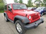 2015 Jeep Wrangler Firecracker Red