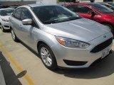 2015 Ingot Silver Metallic Ford Focus SE Sedan #104518647
