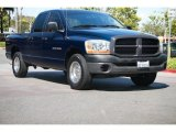 2006 Patriot Blue Pearl Dodge Ram 1500 ST Quad Cab #104562571