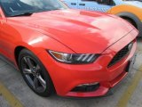 2015 Competition Orange Ford Mustang V6 Convertible #104562507
