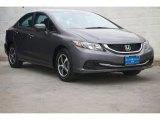 2015 Modern Steel Metallic Honda Civic SE Sedan #104562562