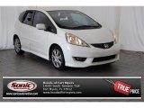 2011 Taffeta White Honda Fit Sport #104562476