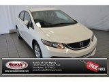 2015 Taffeta White Honda Civic LX Sedan #104582414