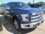 2015 Blue Jeans Metallic Ford F150 XLT SuperCrew #104584495