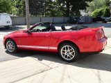 2007 Torch Red Ford Mustang Shelby GT500 Convertible #104584705
