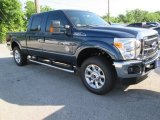 2015 Blue Jeans Ford F250 Super Duty XLT Crew Cab 4x4 #104584497