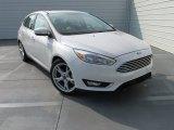 2015 White Platinum Ford Focus Titanium Hatchback #104603432