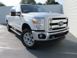 2015 White Platinum Ford F250 Super Duty King Ranch Crew Cab 4x4 #104603424