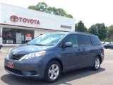 2013 Shoreline Blue Pearl Toyota Sienna LE #104603604