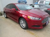 2016 Ruby Red Metallic Ford Fusion SE #104603234