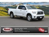 2007 Super White Toyota Tundra Limited Double Cab 4x4 #104645031