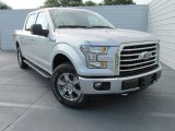 2015 Ingot Silver Metallic Ford F150 XLT SuperCrew 4x4 #104645274