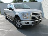 2015 Ingot Silver Metallic Ford F150 XLT SuperCrew 4x4 #104645273