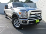 2015 Ingot Silver Ford F250 Super Duty Lariat Crew Cab 4x4 #104645270