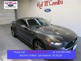 2015 Magnetic Metallic Ford Mustang EcoBoost Premium Coupe #104645122