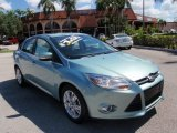 2012 Frosted Glass Metallic Ford Focus SEL Sedan #104645173