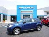 2010 Navy Blue Metallic Chevrolet Equinox LS AWD #104676675
