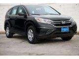 2015 Crystal Black Pearl Honda CR-V LX AWD #104676671