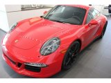2015 Porsche 911 Guards Red