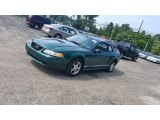 2000 Electric Green Metallic Ford Mustang V6 Coupe #104676661