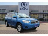 2008 Blue Streak Metallic Toyota Highlander  #104676521