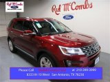 2016 Ruby Red Metallic Tri-Coat Ford Explorer Limited #104676562