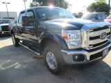 2015 Blue Jeans Ford F250 Super Duty XLT Crew Cab 4x4 #104676559