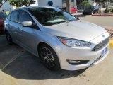 2015 Ingot Silver Metallic Ford Focus SE Sedan #104676558