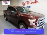 2015 Bronze Fire Metallic Ford F150 XLT SuperCrew #104676555
