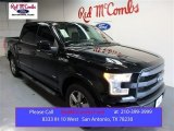 2015 Tuxedo Black Metallic Ford F150 Lariat SuperCrew #104676554
