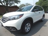 2014 White Diamond Pearl Honda CR-V LX AWD #104676939