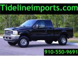 2002 Black Ford F250 Super Duty XLT SuperCab 4x4 #104676936