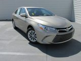2015 Creme Brulee Mica Toyota Camry LE #104676726