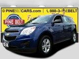 2010 Navy Blue Metallic Chevrolet Equinox LS #104676509