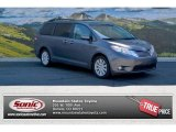 2012 Predawn Gray Mica Toyota Sienna Limited AWD #104676498