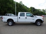 2015 Oxford White Ford F250 Super Duty XL Crew Cab 4x4 #104715300