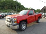 2015 Victory Red Chevrolet Silverado 1500 WT Regular Cab #104715496