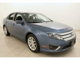 2010 Sport Blue Metallic Ford Fusion SEL #104715628