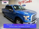 2015 Blue Flame Metallic Ford F150 XLT SuperCrew #104750604