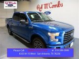 2015 Blue Flame Metallic Ford F150 XLT SuperCrew #104750597