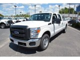 2015 Oxford White Ford F250 Super Duty XL Crew Cab #104750707